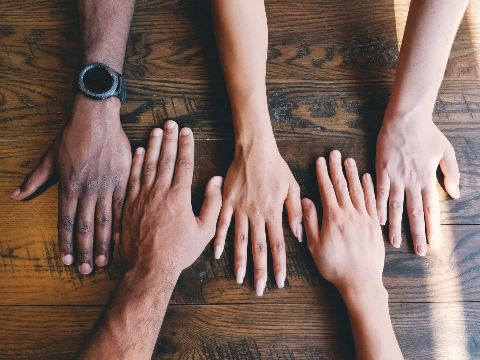 hænder sammen valg af fagforening